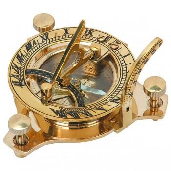 Mosazný kompas Sundial