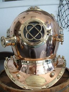 Nautika potápěčská helma portuguese engineering mk. 5