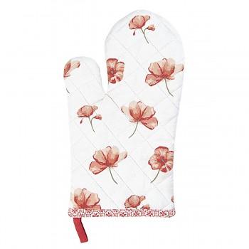 Chňapka POPPY FLOWERS 16*30 cm