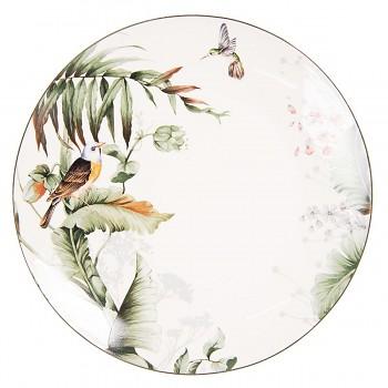 Jídelní talíř TROPICAL BIRDS
