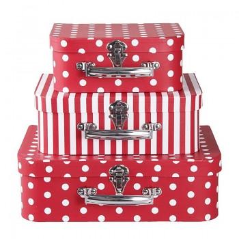 Sada tří kufříků