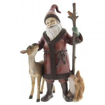 Santa se zvířátky