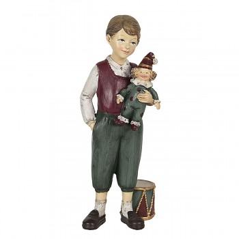 Chlapec s hračkou