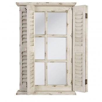 Nástěnné zrcadlo s okenicemi