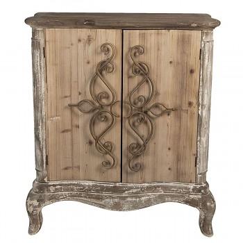 Dřevěná skříňka