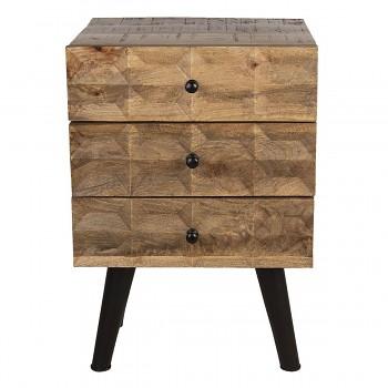 Dřevěná skříňka / Noční stolek