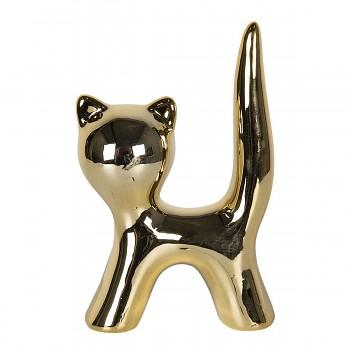 Dekorativní kočička GOLD