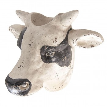 Obal na květináč COW HEAD