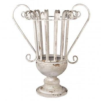 Dekorativní kovová váza