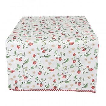 Běhoun na stůl WILD STRAWBERRIES 50*140 cm