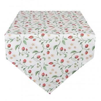 Běhoun na stůl WILD STRAWBERRIES 50*160 cm