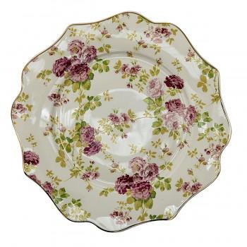 Keramický dezertní talíř