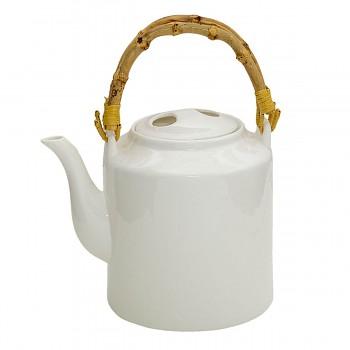 Porcelánová konvička na čaj