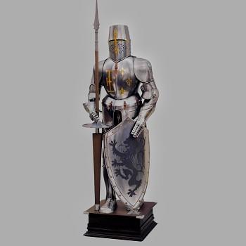 Brnění španělského těžkooděnce 16. století
