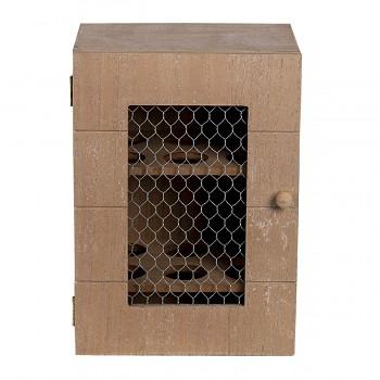 Dřevěná skříňka na vajíčka