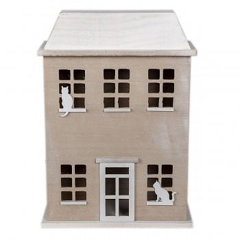 Dřevěný box HOUSE