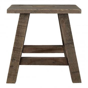 Dřevěný stolek pod květináč