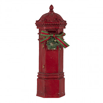 Poštovní schránka s vánoční ozdobou