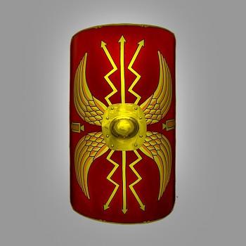 Římský legionářský štít Scutum