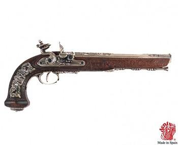 Křesadlová pistole, mistr Versailles, Boutet 1810