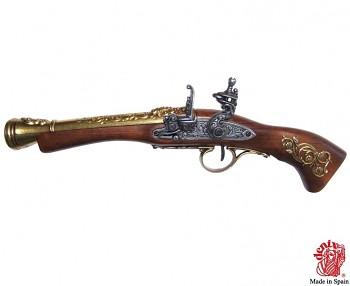 Křesadlová mušketa 18.století pro leváky