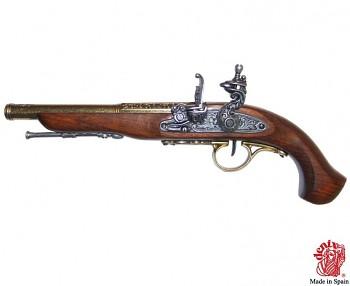 Pirátská pistole 18.století pro leváky