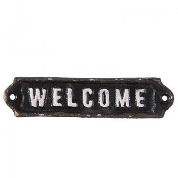 Cedulka na dveře WELCOME