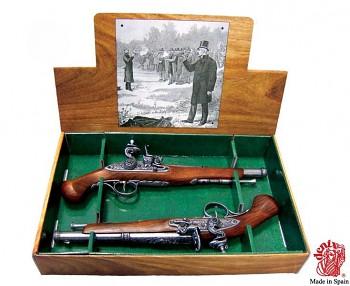 Soubojová pistole Anglie 18. století