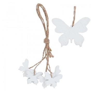 Svazek pěti dřevěných motýlů