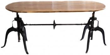 Jídelní stůl z palisandrového dřeva