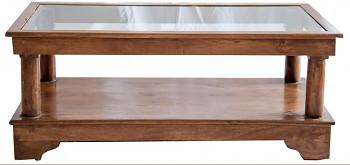 Indický konferenční stolek z palisandrového dřeva