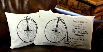 Polštářek Bicykles
