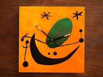 Keramické hodiny Miro