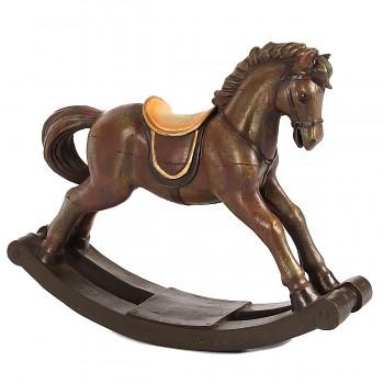 Nostalgický houpací kůň