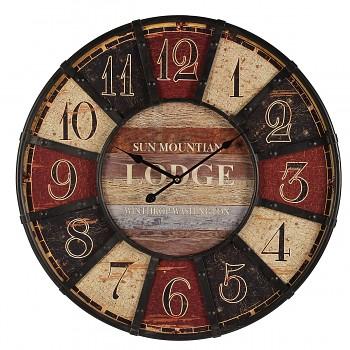 Nástěnné hodiny Sun montian Lodge