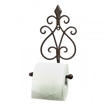 Kovový držák toaletního papíru