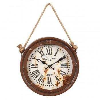 Nástěnné hodiny Old Town Ships