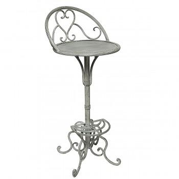 Kovová barová židle Romantique
