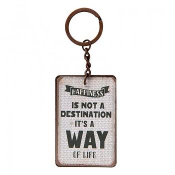 Přívěšek na klíče WAY OF LIFE