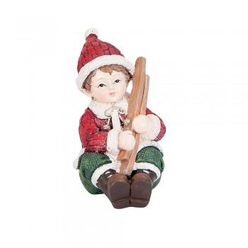 Chlapec se dřevem