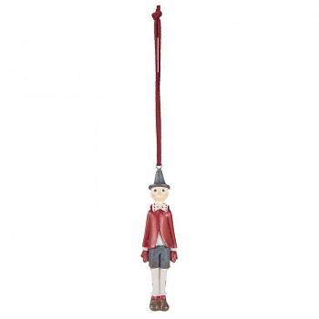 Pinokio v červeném kabátku