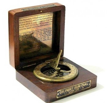Sluneční kompas Gilbert Sundial