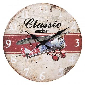 Nástěnné hodiny CLASSIC AIRCRAFT