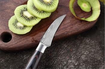 """Loupací nůž 3"""" XITUO SAGA ocel 7CR17 440C"""