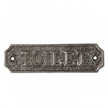 Cedulka k označení místnosti TOILET