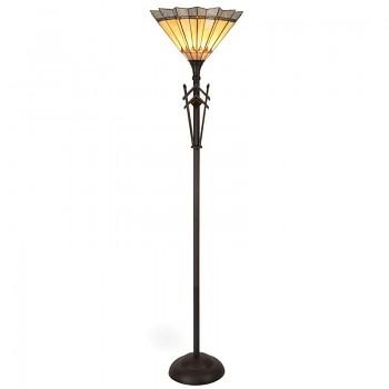 Stojací lampa Tiffany Iris