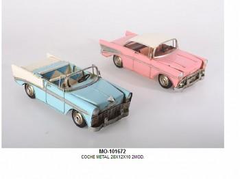 ovový model U.S. cabrio (modrý)