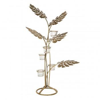 Svícen na čajové svíčky TREE