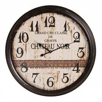 Nástěnné hodiny CHATEAU NOIR