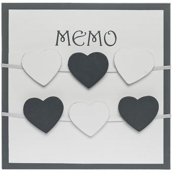 Memo tabule Love